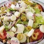 Salada completa - meia porção
