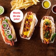 B+ Hot dog do seu jeito!