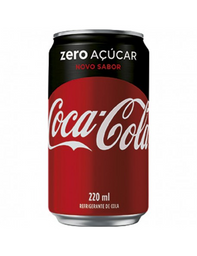 Coca-Cola Sem Açúcar - 220ml