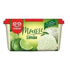 Sorvete Kibon Mousse de Limão - 1,5L