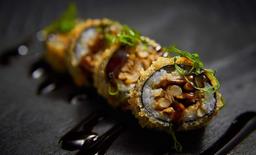Hot roll shimeji vegano
