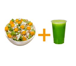 Salada gourmet istambul média+ suco 500m