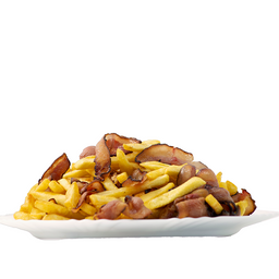 Porção De Batata Frita Com Bacon