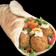 Sanduíche falafl