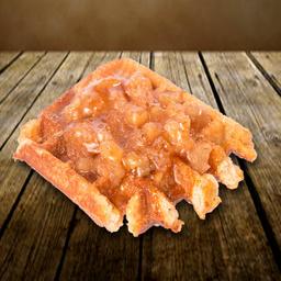 Waffle Maçã com canela