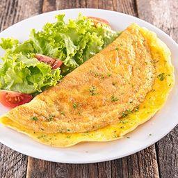 Omelete com Batata Frita