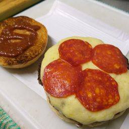 Pepperoni Burger