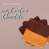 Biscoito Integral Cravo,canela e Chocola 100g