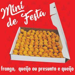Travesseiro de Presunto e Queijo Frito - 50 Unidades