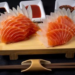 Sashimi de salmão - 8 un