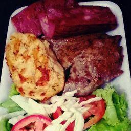 Misto (Carne, Frango e Calabresa)