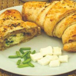 Croissant Integral de Queijo Minas C/ Cebolinha