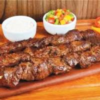 Baião com Churrasco de Carne
