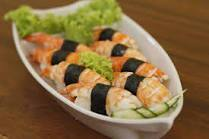 Sushi de Camarão - 10 Unidades