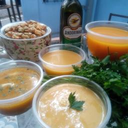 Sopa de Cenoura, Mel e Gengibre - 400g