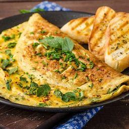Omelete + Filé de Frango