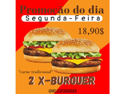 Combo 2 X - Burguer