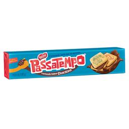 Biscoito passatempo recheado de chocolate nestlé