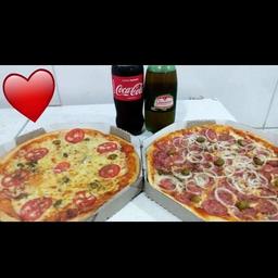 2 Pizzas 1 Guaraná Antártica L