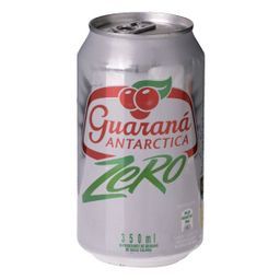 Guaraná antartica zero lata (350ml)
