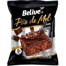 Pão de Mel Sabor Chocolate Belive