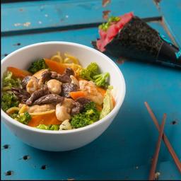 Combo Temaki e Noodle