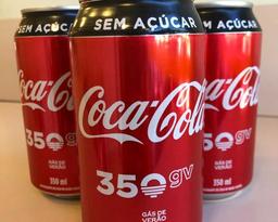 Coca-cola zero lata 350ml