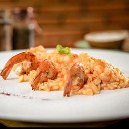 Risoto de camarão (2 pessoas)