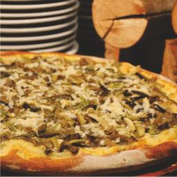 Pizza Zucchine e Melanzane Di Chevrotin