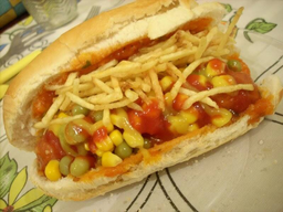 Combo Cheese Dog Linguiça Completo