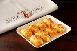 Mini Croissant Recheado - 8 Unidades