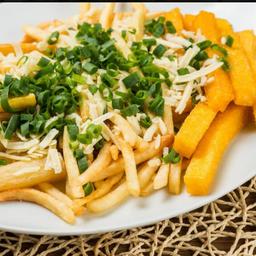 Mista ou batata ou aipim ou polenta