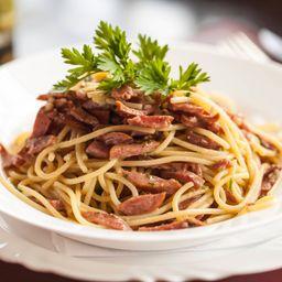 Spaghetti a Calabresa
