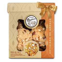 Biscotti Artigiano de Amêndoas - 90g