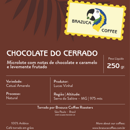 Microlote Cerrado Mineiro - 250g