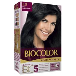 Tintura Biocolor Beleza Absoluta Preto Fundamental 1.0