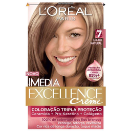 Tintura Imédia Excellence Louro Natural 7