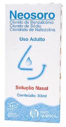 Neosoro Solução Nasal Adulto Com 30 Ml