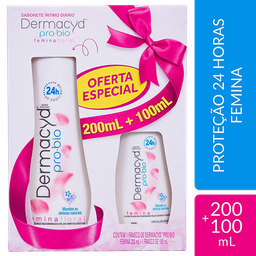 Kit Dermacyd Femina Sabonete Íntimo Liquído 200mL+1,99 Leve
