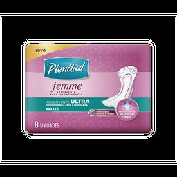 Absorvente Ultra PLENITUD FEMME - 8 unidades