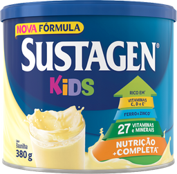 Complemento Alimentar Sustagen Kids Baunilha 380 g