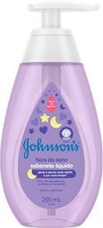 Sabonete Líquido JOHNSON'S® Baby Hora do Sono 200 mL