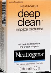 Sabonete Facial Netrogena Deep Clean 80g