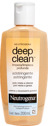 Adstringente Neutrogena Deep Clean 200 mL