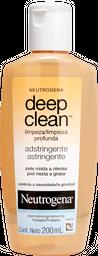 Adstringente Neutrogena Deep Clean Limpeza Profunda 200mL