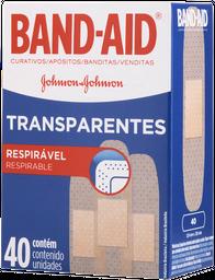 Curativo Transparente Band Aid 40 Und