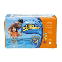 Fraldas Huggies Little Swimmers M Com 11 Unidades