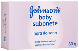 Sabonete Barra johnson's Baby Hora do Sono 80g
