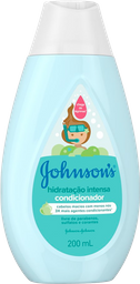 Condicionador Johnson's Baby Hidratação Intensa 200mL