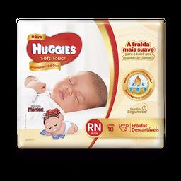 Fralda HUGGIES Soft Touch RN - 18 fraldas